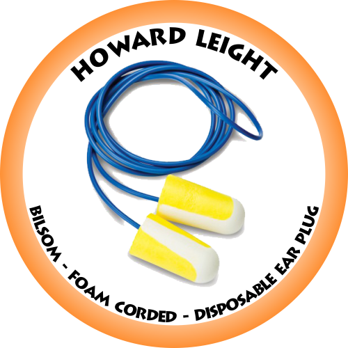 HOWARD LEIGHT - Bilsom Foam Corded Disposable Ear Plug - 303L