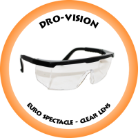 DRO-VISION Euro Spectacle Clear lens - DV-026C