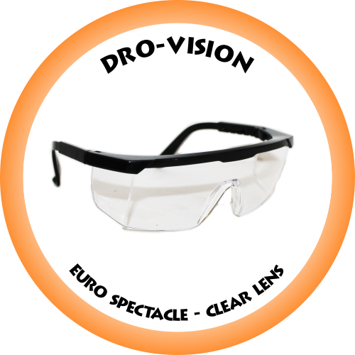DRO-VISION Euro Spectacle Clear lens - DV-026C (Box of 12) (PLEASE CONTACT US FOR PRICING)