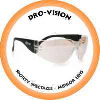 DRO-VISION Sporty Spectacle Mirror lens - DV-12M
