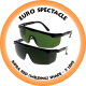Euro Spectacle Infra Red (Welding) Shade 5 lens - SP7022G5 (Box of 12)