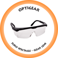 OPTIGEAR Euro Spectacle Clear lens - SA-SPECCLOG-EURO
