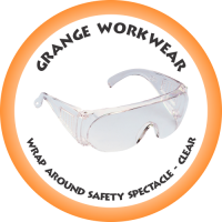 WRAP AROUND Safety Spectacle clear - SP7120