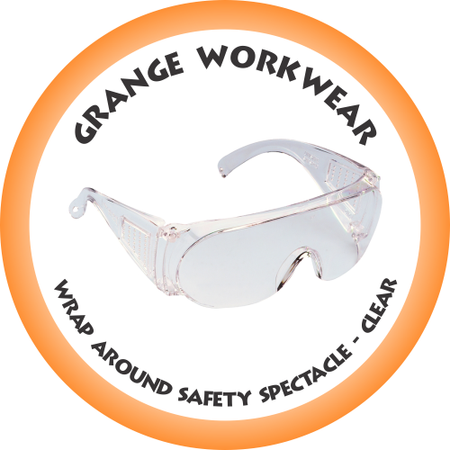 WRAP AROUND Safety Spectacle clear - SP7120 (Box of 12)