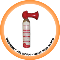 Emergency Air Horn Only 135ml (Hand held Alarm)