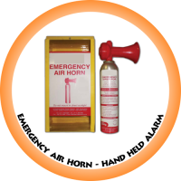 Emergency Air Horn 135ml (Hand held Alarm) c/w Box