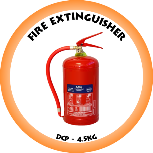 Fire Extinguisher DCP - 4.5kg