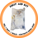 First Aid Kit Reg 7 Part 1 (Reg 3) - Contents Refill Only