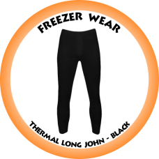 Thermal Long John Black (Please confirm stock before placing your order)