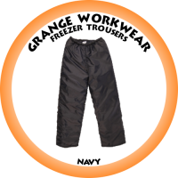 Freezer Trouser Navy - PC0225 (Please confirm stock before placing your order)