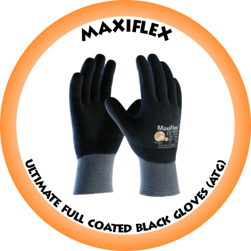 Maxiflex Ultimate Fully Coated Back Glove (ATG) - 42-874