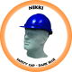 Nikki Hard Hat Industrial - Dark Blue