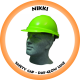 Nikki Hard Hat Industrial - Hi-Viz Lime
