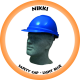 Nikki Hard Hat Industrial - Light Blue