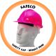 SAFECO Hard Hat - Bright Pink