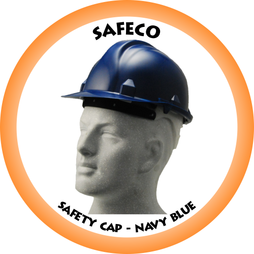 SAFECO Hard Hat - Navy Blue