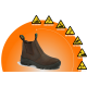 BOVA Chelsea Safety Boot - Brown - 90006