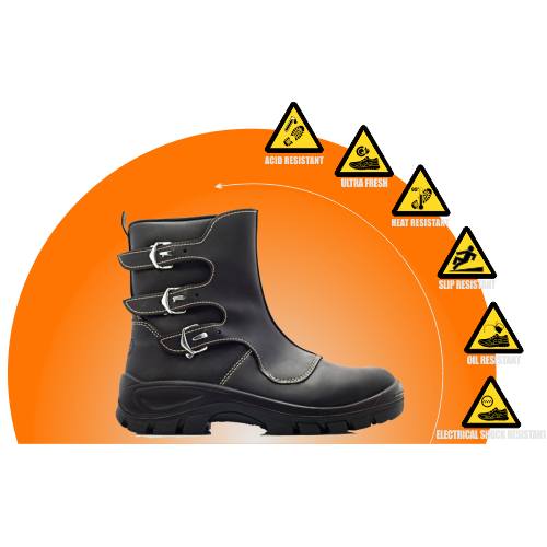 BOVA Smelters Buckle Safety Boot