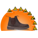 DOT Chelsea Safety Boot - Brown