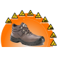 DOT Xenon Safety Boot Brown SABS Approved