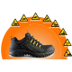 REBEL Expedition Lo Safety Shoe - Black - RE425BK