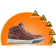 REBEL Hi Top Safety Boot  - Brown - RE420BR