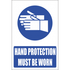 MV5E - Hand Protection Explanatory Safety Sign