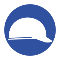 MV3 - Head Protection Safety Sign