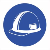 MV3N - Head Protection Safety Sign