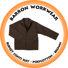 CS-BPC BARRON Budget Conti Suit - Polycotton - Brown